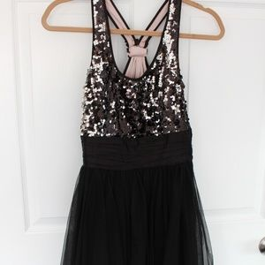 Dresses & Skirts - Sequin and Tulle, Black dress